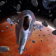 #StarWars #SpotlightOfTheWeek - Slave I: Bounty Hunter Ship by starwars