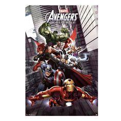 Avengers Assemble Wall Poster
