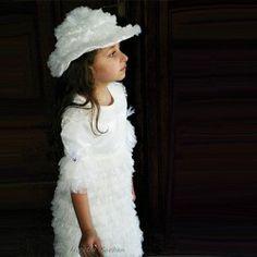 Christening, Special Events, Fur Coat, Flower Girl Dresses, House Styles, Wedding Dresses, Celebrities, Children, Fashion