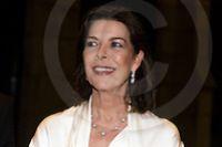07-11–2014 Prinses Caroline van Monaco was vanavond aanwezig in het Rijksmuseum, in de hoedanigheid van President van de St. AMADE, voor een charitydiner om het in te zamelen. Het diner in de Nachtwachtzaal werd oa georganiseerd om de oprichting van AMADE Nederland te bekrachtigen. foto(s) Anneke Janssen  /  anneke@foto-janssen.nl  /  +31642308306