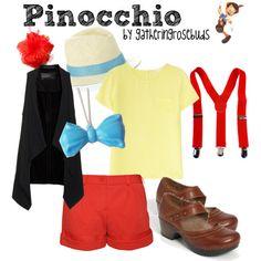 """Pinocchio"" by gatheringrosebuds on Polyvore"