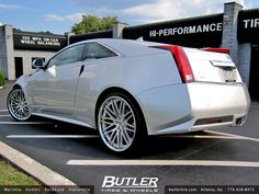 Cadillac CTS Coupe with 22in Lexani CVX44 Wheels | Flickr - Photo Sharing!