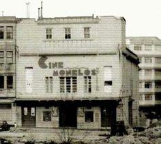 Cine Monelos - Calle Caballeros, al cine Monelos también se le conocia por El Pulga.