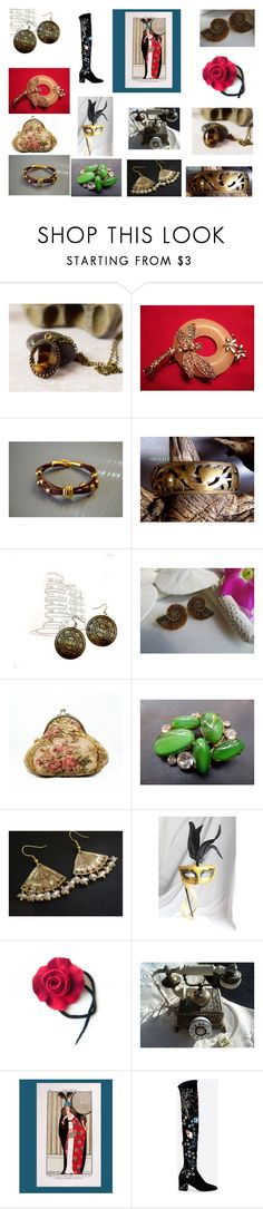 """""""Under the Tree!"""" by einder ❤ liked on Polyvore featuring Masquerade, Valentino and vintage"""