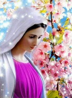 Catholic Pictures, Jesus Pictures, Blessed Mother Mary, Blessed Virgin Mary, Madonna, I Love You Mother, Holy Mary, God Prayer, Gerbera