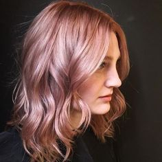 Rose Gold Hair Is The Latest Hair Color Trend - 12 Pink Hair Shades