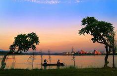 中國單車旅行: 東莞松山湖輕鬆單車旅行