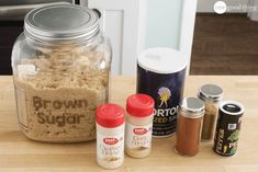 Everything You Need To Make 10 Homemade Spice Mixes In Under An Hour · One Good Thing by Jillee Homemade Dry Mixes, Homemade Spice Blends, Homemade Spices, Homemade Seasonings, Spice Mixes, Homemade Things, Soup Mixes, How To Make Spice, Sloppy Joe Mix