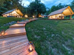 Romantic atmosphere in our glamping resort Chateau Ramšak