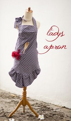 lady's apron tutorial