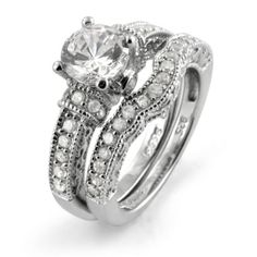 3.5ct Round Solitaire Cubic Zirconia .925 Sterling Silver Ring Sizes 4-10