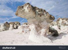 Rock formations in Bulgaria, Rock mushrooms