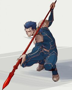 Fate/Stay Night - Lancer