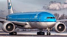 KLM B 777 at Shiphol