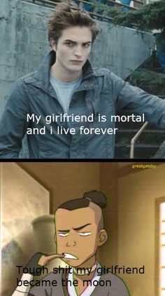 The Last Airbender... Sokka has more problems than Twilight will ever have