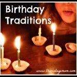 Birthday Traditions for Children
