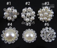 Wholesale Diy Jewelry - Buy NEW Shiny Metal Rhinestone Button Crystal  Button Flat Buttons Sliver 6 f7ebb00043e0