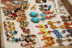 candy jewels.  OSCAR DE LA RENTA SPRING 2014 - PHOTO BY @Natasha S S Jahangir http://onephotographatatime.tumblr.com/
