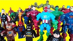 Surprise eggs Marvel super heroes, toys for kids, surprise superhero Spiderman…