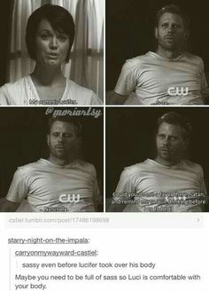 Lucifer would be comfortable with my body lol