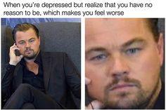depressing memes leo dicaprio