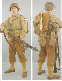 US Army Infantry World War II
