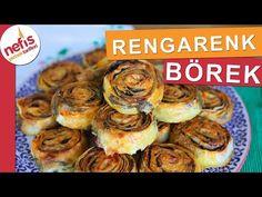 Yiyenlerin mutlaka tarifini soracağı değişik bir tarif RENGARENK BÖREK - YouTube