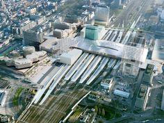 2013-Utrecht Centraal ---bovenaanzicht-noord-naar-zuid
