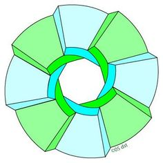 Circular Endless Staircase Illusion - http://www.moillusions.com/circular-endless-staircase-illusion/