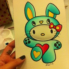 A little painting I just made for @missmaryleigh