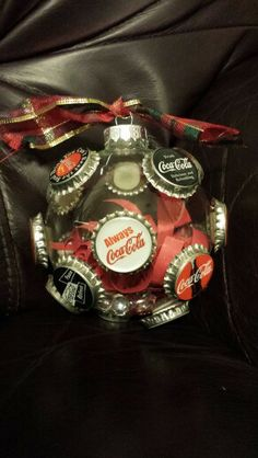 Coca Cola Christmas ornament