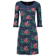 Tante Betsy jurk 'Tammy Bouquet Blue' koop je eenvoudig en veilig online bij Love, Peace & Joy. Op werkdagen voor 21.00 uur besteld, is morgen in huis!