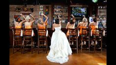 Awesome Bridesmaids photo. This would be a cool wedding picture idea...