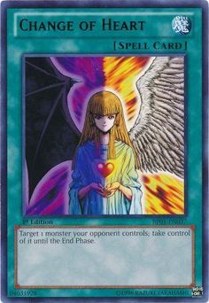 Change of Heart Yu-gi-oh! TCG Spell Card