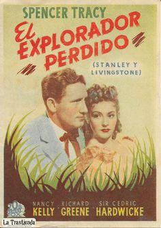El Explorador Perdido - Programa de Cine - Spencer Tracy - Nancy Kelly - Richard Greene