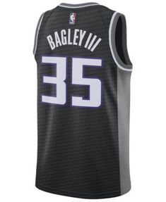 b90afe2a57e8 Nike Men Marvin Bagley Iii Sacramento Kings Statement Swingman Jersey
