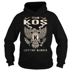 I Love Team KOS Lifetime Member - Last Name, Surname T-Shirt Shirts & Tees