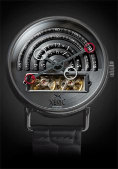 Xeric Halograph Gunmetal Automatic Watch