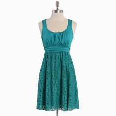 ModCloth, dress I got for the wedding shower in a rose color, so comfortable and cute!