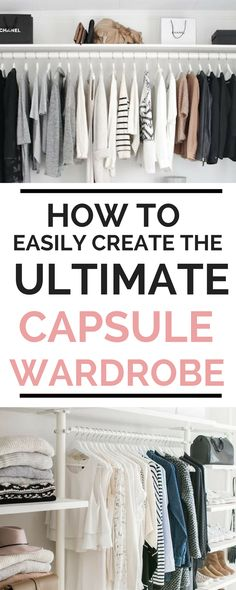 Finally a step-by-step guide that will help me curate the ULTIMATE CAPSULE WARDROBE! Super easy to use and very helpful. The free printable PDF is the best one I have found. Definitely pinning. #capsulewardrobe #howtocapsulewardrobe #minimalist #womensfashion #fashion #fashiontrends2018