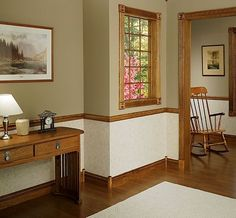 Dining Room Colors Brown paint colors for dining room with chair rail | chair rails: even