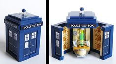 LEGO TARDIS - Doctor Who I will totally buy one of these of they actually come out with it!!!