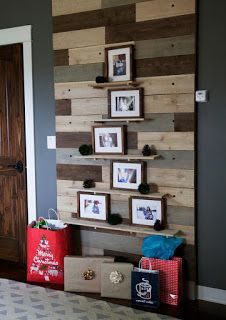 Pallet Project - Floating Shelves Made From Pallet Wood