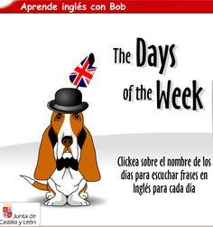 Recurso educativo de la Junta de Castilla la Mancha . Aprender los días de la semana y los meses del año