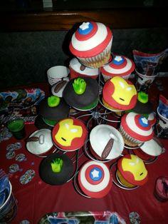 Cupcakes Los Vengadores!!!