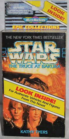 """Micro Machines Star Wars Epic Collection III (3) """"The Truce At Bakura""""1996 Boxed"""
