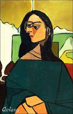 Mona Lisa by Pablo Picasso