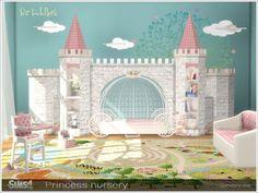 The Sims 4 Mody: Pokój dla maluchów Princess od Severinka