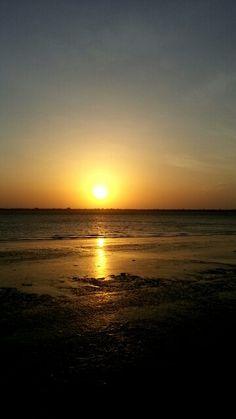 Pôr-do-sol no Portal da Amazônia, Belém PA