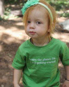"""""""We do not inherit the Earth from our ancestors; we borrow it from our children.""""  www.smallbutmightytees.etsy.com"""